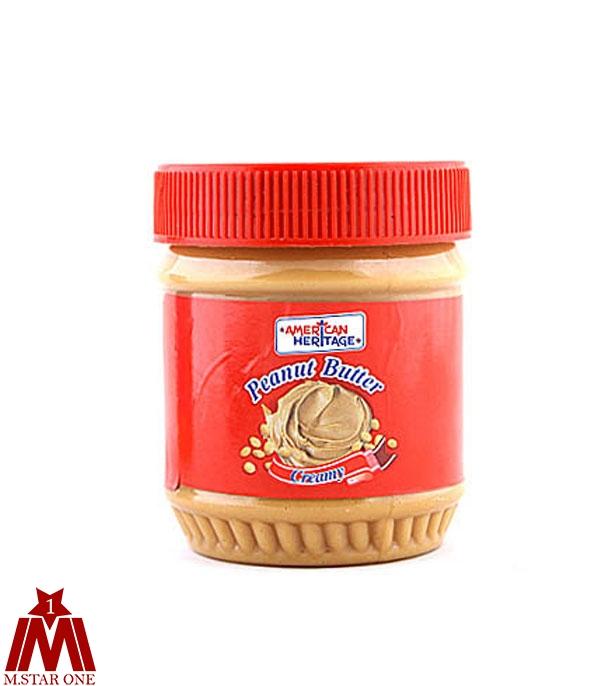کره بادام زميني امريکن هريتاج قرمز