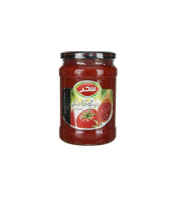 رب گوجه فرنگي شيشه ۶۸۰ گرمي سحر
