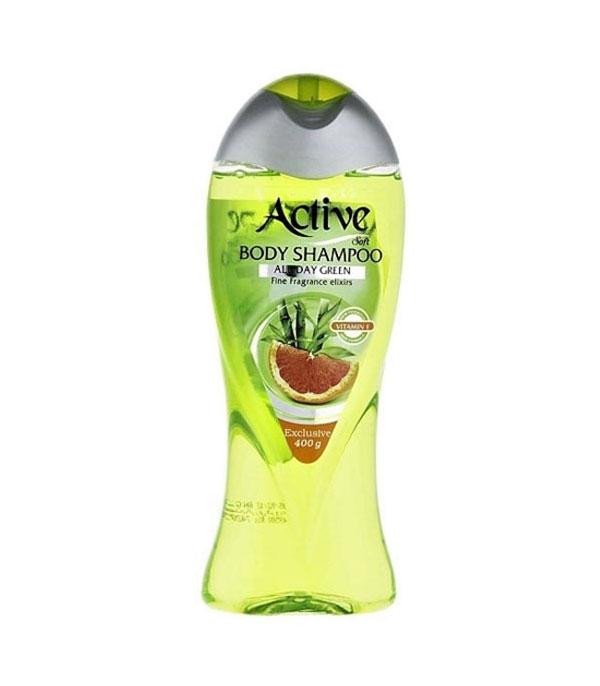 شامپو بدن 400 گرمی سبز اکتیو